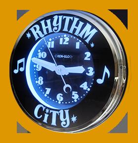 Rhythm City Clock